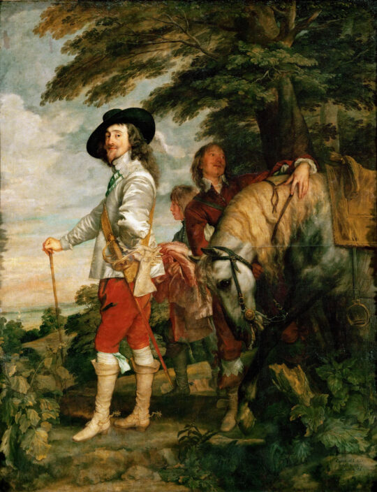 Charles I at the Hunt