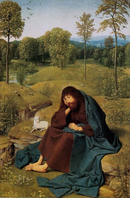 John the Baptist in the Wilderness