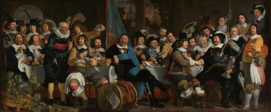 Banquet at the Crossbowmen's Guild