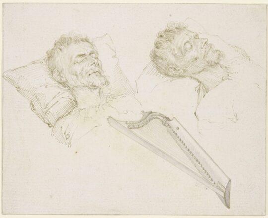 Karel van Mander on his Deathbed