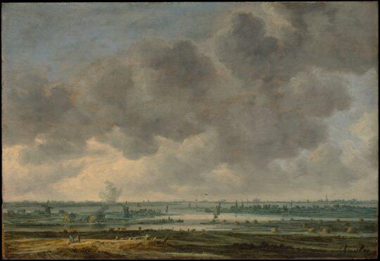 View of Haarlem and the Haarlemmermeer