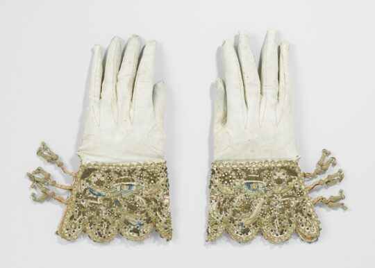 A Pair of Wedding Gloves